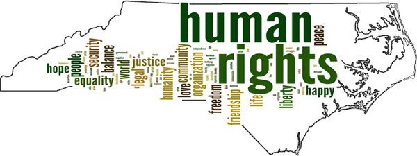 NC map with Human Rights